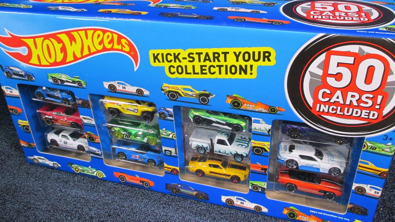 Toys R Us Hot Wheels 50 Pack Unboxing By Race Grooves
