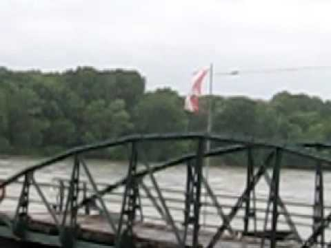 VIDEO #9X  Day 62 - Ferry Across the Danube (On Pulley System)  (Austria)