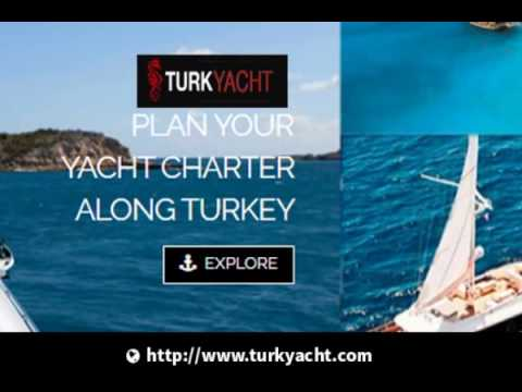 Yacht Charter Along Turkey