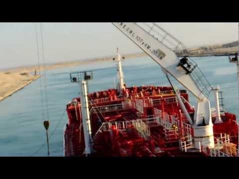Suez chanel  South bound transit  Resume passage