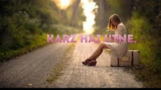 Tanhaiyaan Hai Whatsap status   Asees Kaur   Loneliness Status  