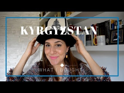 What I bought from Kyrgyzstan - Practical Souvenirs