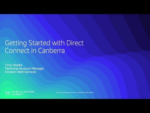 Getting Started with AWS Direct Connect in Canberra