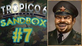 Tropico 6 Military Dictatorship Ep. 7 - Non-Stop Guerilla Attacks