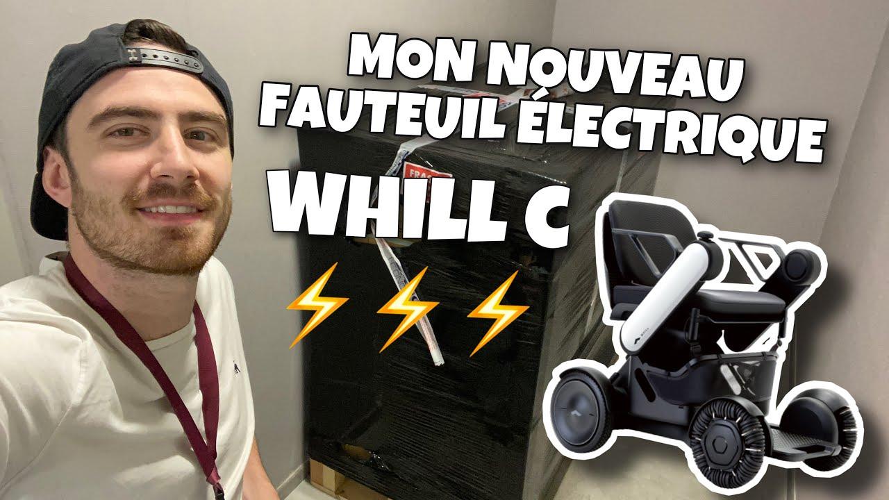 MON NOUVEAU FAUTEUIL ELECTRIQUE WHILL C