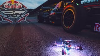 With a Drone at a Formula 1 track? | Red Bull DR.ONE