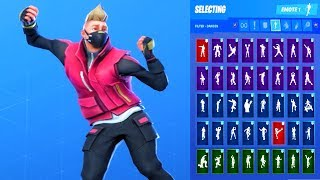 *UPDATE* Fortnite DRIFT Skin Showcase with All Dances & Emotes *Subscriber Request*
