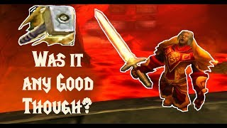 PALADIN In CLASSIC WoW: Was It Any Good Though?