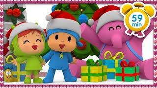 ⛸ POCOYO ITALIANO - Vacanze di Natale sulla neve [59 min] | VIDEO e CARTONI ANIMATI per bambini