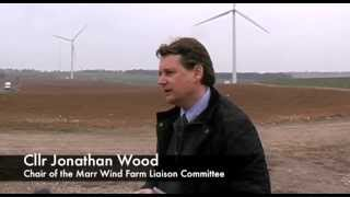 Community benefits at Marr Wind Farm