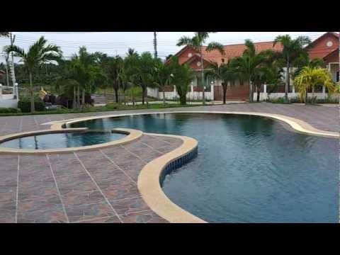 New house Pattaya sale near pool 10m.