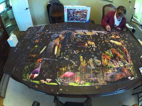 Cordas Complete 3000 Piece Ravensburger Puzzle - Time Lapse streaming vf