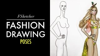 FASHION POSE NO.2 | Fashion Drawing