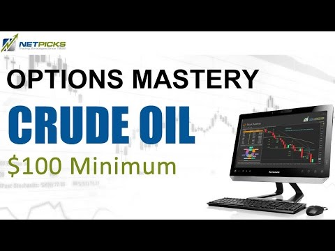 Trade Crude Oil for as little as $100 with PTU Options Mastery