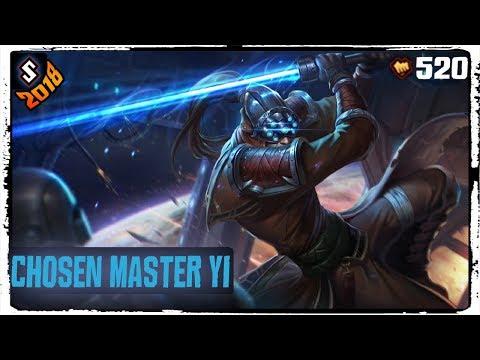Chosen Master Yi Skin 2018 - League of Legends