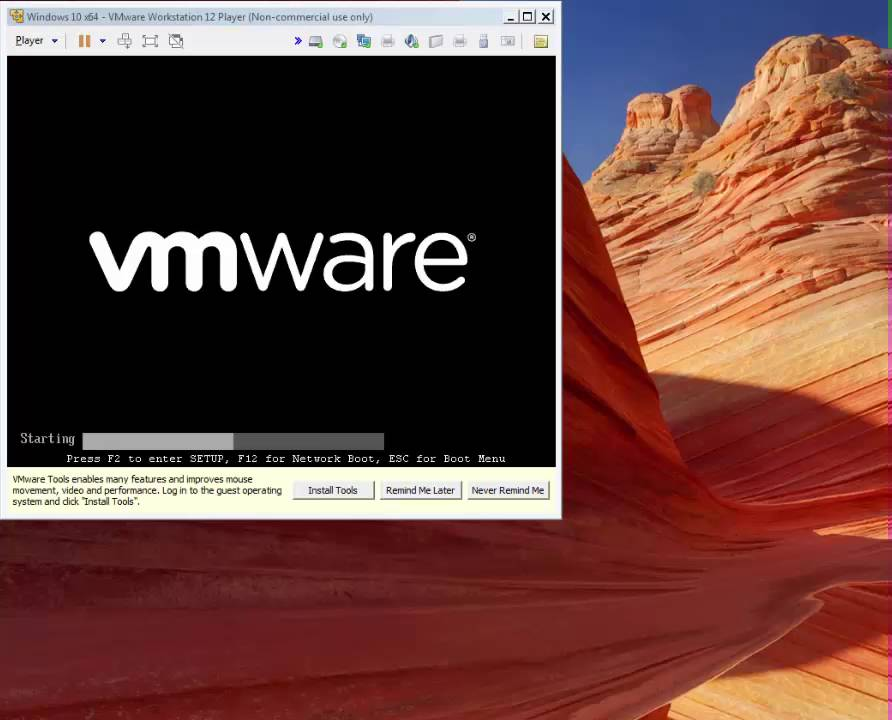 Install Windows 10 as Virtual Machine using VMware Workstation