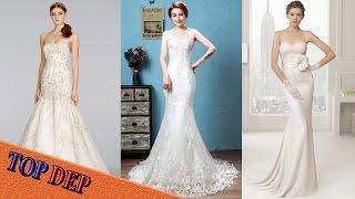 Top Mẫu váy cưới đuôi cá hiện đại cho cô dâu đẹp lung linh