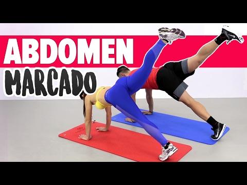 VIENTRE PLANO ABDOMEN DEFINIDO: 6 planchas en casa   Flat Stomach Workout