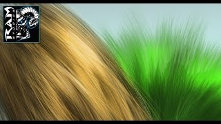 How to Make a Hair and Fur Brush in Photoshop - Tutorial narrated by Robert Marzullo