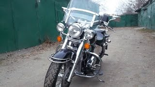 Обзор Honda Shadow 750(Обзор мотоцикла Honda Shadow 750 АСЕ 2003 г.в., 2015-01-19T20:28:38.000Z)