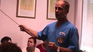видео Сахарный диабет и язвы на ногах