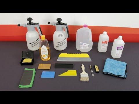 LLumar PPF - Shop Environment & Tools