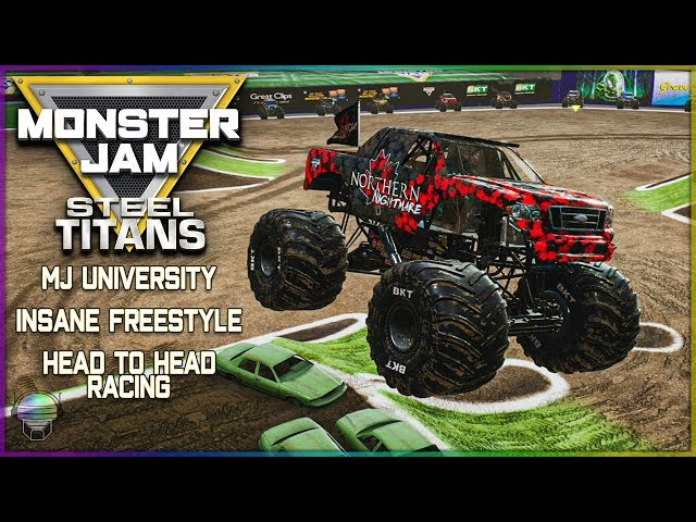 Monster Jam Steel Titans *FIRST LOOK* (MJ University/Freestyle/Head to Head Racing)
