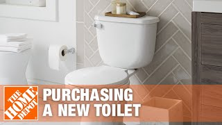 Things to Consider When Purchasing a New Toilet - The Home Depot