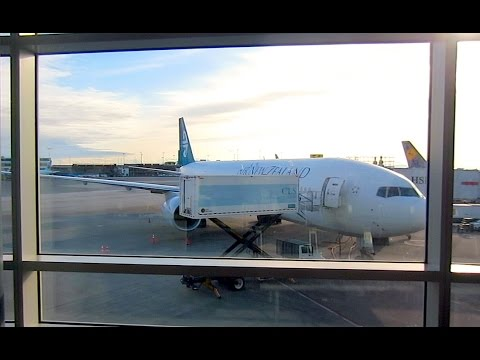 Air New Zealand B777 - NZ23 Vancouver To Auckland - Flight Vlog