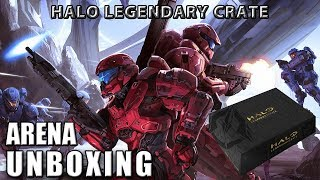 Unboxing - Halo Legendary Crate: Arena