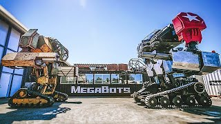 MEGABOT ROBOTS – Real Life Mechwarrior Robots