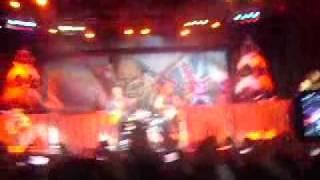 Iron Maiden Bogotá 2011 - The Trooper