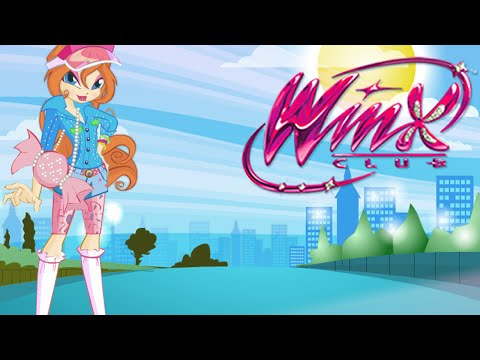 Winx Club Movie Video Game - Bloom's Dress Up (NEW Winx Game for Girls)