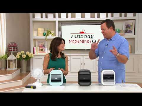 HoMedics MYCHILL 2.0 Personal Space Cooler with 3 Speeds on QVC