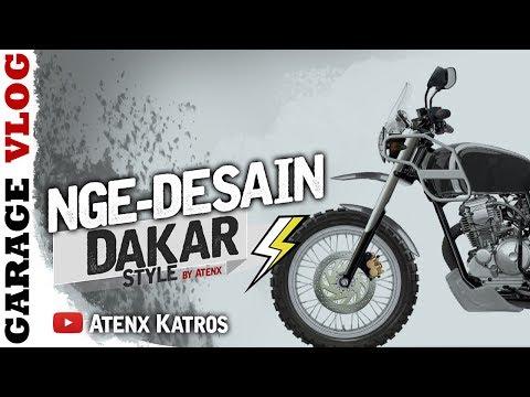 NGE-DESAIN SCORPIO CUSTOM DAKAR [Garage Vlog]