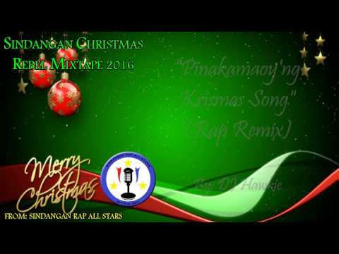 DJ Hawkie - Pinakamaoy'ng Krismas Song (Rap Remix) (Official Lyric Video) #SCRM2016