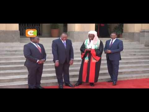 Kenyatta, Maraga agree to work together