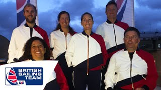 Paralympic Sailors Opening Ceremony Night at ParalympicsGB HQ with Stephen Park