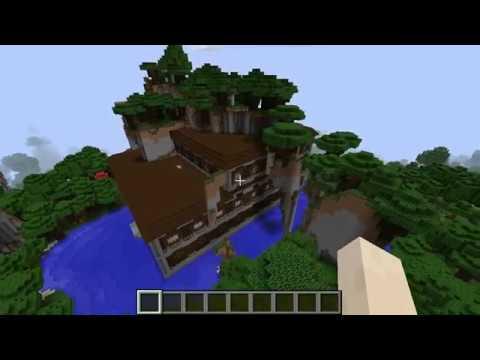 Minecraft 1122 Seed 011 Super Weird Woodland Mansion