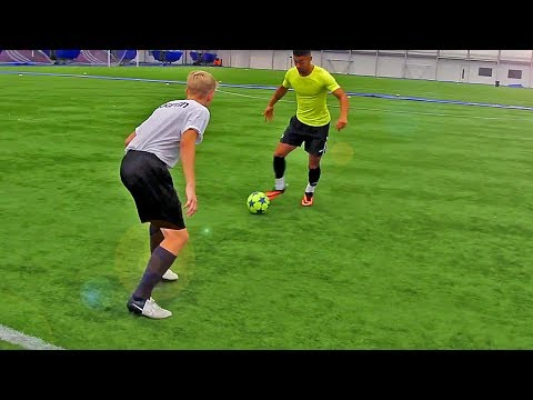 TOP 5 CRAZY World Cup 2014 Football Skills To Learn Tutorial