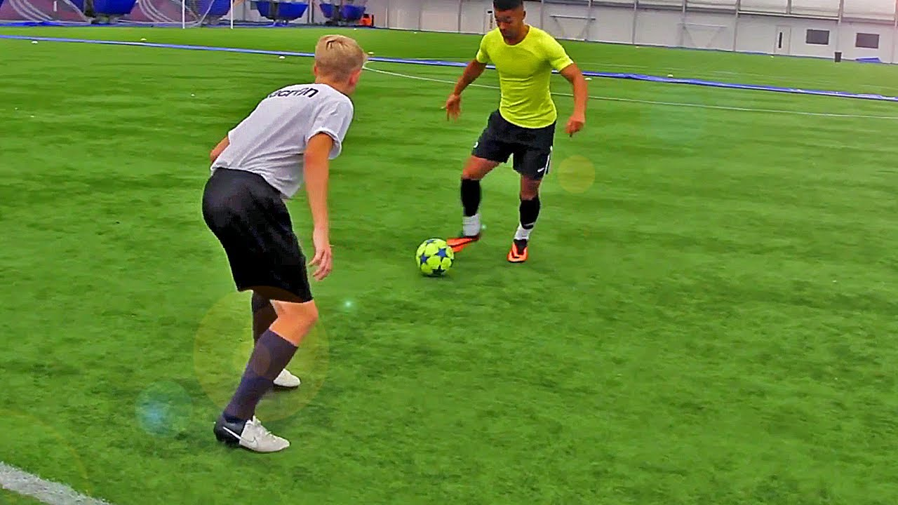 Soccer Drill to Teach Players to Be More Aggressive