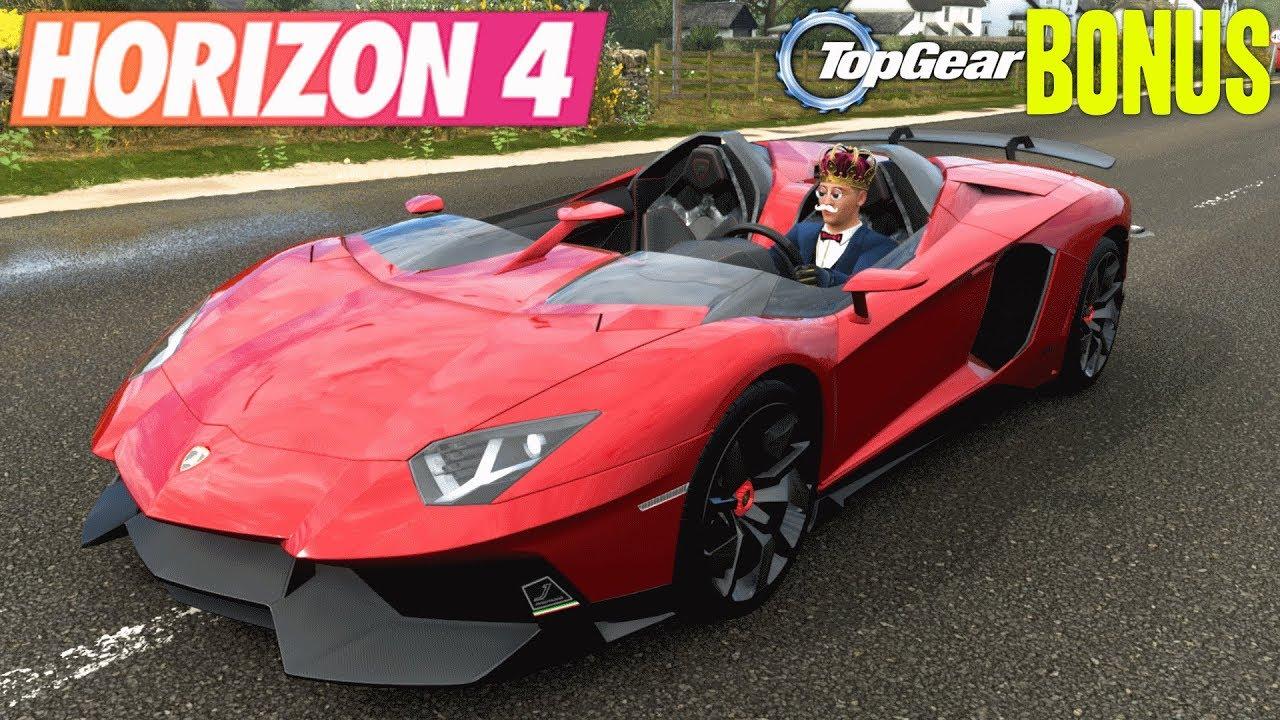 Forza Horizon 4 Lamborghini Aventador J Youtube