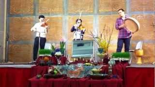 Ronak, Bijan Mortazavi, 2 Violins and daf, part 2