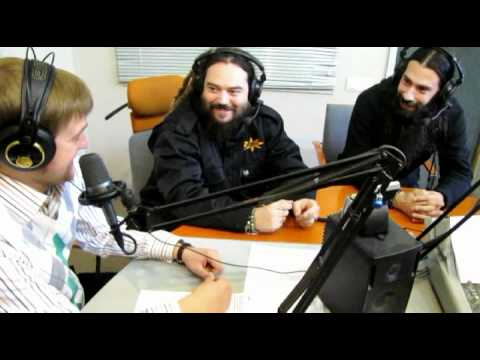 Max Cavalera at Radio Roks, St.Petersburg, Russia. 29.10.2010