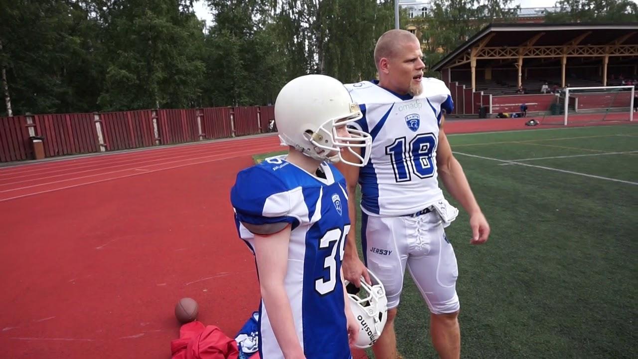 Samuel Shipway presenting Ideapark Sport: Jenkkifutis & Tampere Saints - YouTube