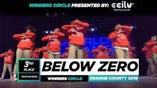 Zero Below   3rd Place Team  Winners Circle  World of Dance OC 2019  #WODOC19