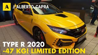 Honda Civic TYPE R 2020 | Limited Edition (-47 kg) e Sport Line