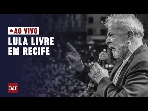[AO VIVO] Acompanhe o Festival Lula Livre em Recife