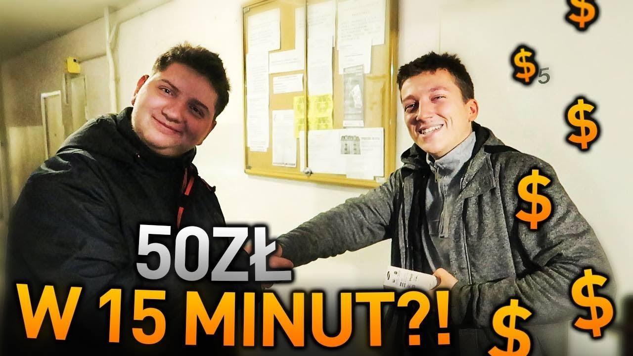 Jak zarabiać 50zł w 15 minut? DEAL ŻYCIA!!!