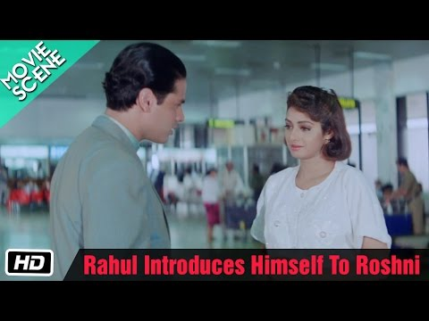 Rahul Introduces Himself To Roshni - Movie Scene - Gumrah - Rahul Roy, Sridevi